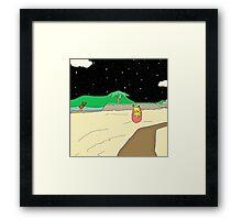 Beach Pokemon Framed Print