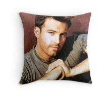 Ben Affleck Throw Pillow