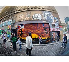 Hosier Lane Abstract Photographic Print