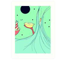 Lemon Voyage Art Print