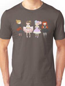 Lolita Fashion girls Unisex T-Shirt