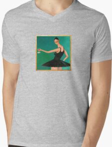 My Beautiful Dark Twisted Fantasy (Ballerina) Mens V-Neck T-Shirt