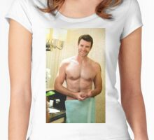 Scott Foley 2 Women's Fitted Scoop T-Shirt