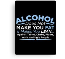 alcohol Canvas Print