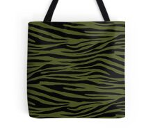 0018 Army Green Tiger Tote Bag