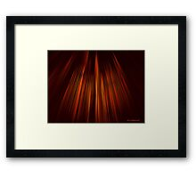 Within The Cathedral Of Hell Framed Print