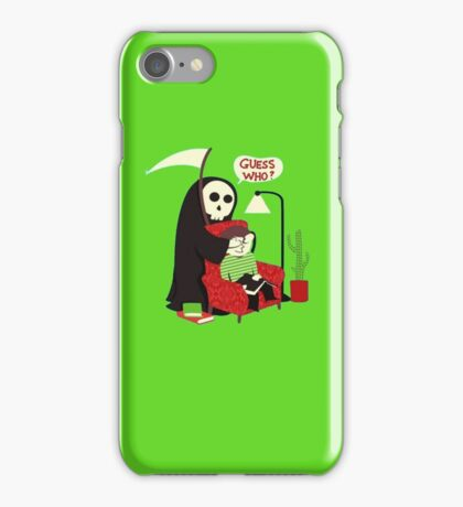 guess who ? iPhone Case/Skin