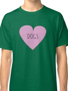 DOG LOVE Classic T-Shirt
