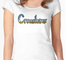 Crenshaw Chrome style Women's Fitted Scoop T-Shirt