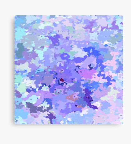 Lilac zinc Canvas Print