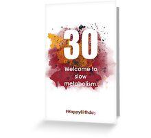 30-SunriseSpotA | AgeIsJustANumber Greeting Card
