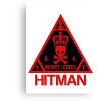 Hitman Merces Letifer  Canvas Print