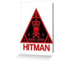 Hitman Merces Letifer  Greeting Card