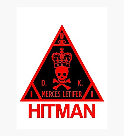 Hitman Merces Letifer  Photographic Print