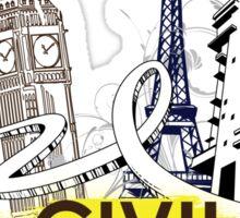 Civil Engineering! Sticker