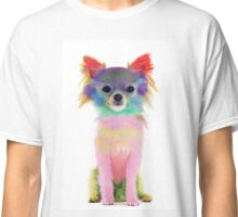 Colorful chihuahua Classic T-Shirt