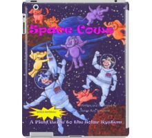 Space Cows Front Cover iPad Case/Skin