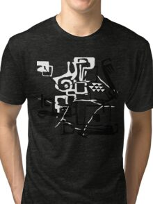 Abstract. Pseudo ethnic doodle. Tri-blend T-Shirt