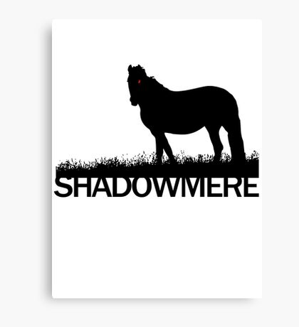 Shadowmere (Elder Scrolls) Canvas Print