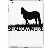 Shadowmere (Elder Scrolls) iPad Case/Skin