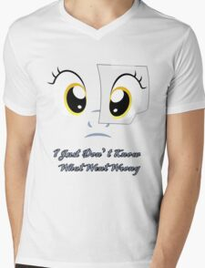 I Just Don't Know What Went Wrong (MLP:FiM) Mens V-Neck T-Shirt