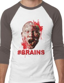 #BRAINS Men's Baseball ¾ T-Shirt
