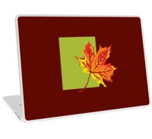 Fall Leaf Laptop Skin