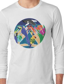 Tropical Creation Long Sleeve T-Shirt