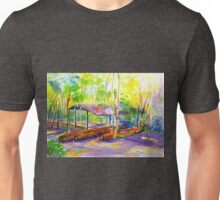 Currumbin , Cougals, Old timber Mill [Watercolour ] Unisex T-Shirt