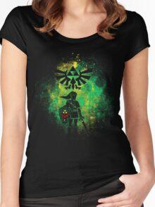 Hyrule Art Women's Fitted Scoop T-Shirt