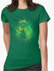 Hyrule Art Womens Fitted T-Shirt