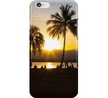 A refreshing sunset silhouette. iPhone Case/Skin