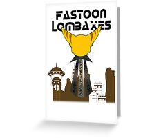 Fastoon Lombaxes (Ratchet and Clank) Greeting Card
