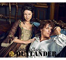 Outlander/Jamie & Claire Fraser/Diana Gabaldon Photographic Print