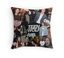 Teen Wolf Collage 2  Throw Pillow