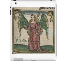Virgo 16th Century Woodcut iPad Case/Skin
