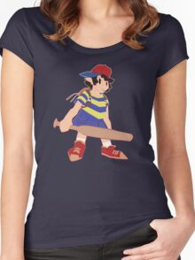 Earthbound Ness Design Women's Fitted Scoop T-Shirt