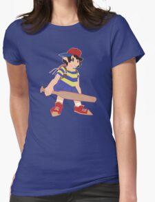 Earthbound Ness Design Womens Fitted T-Shirt