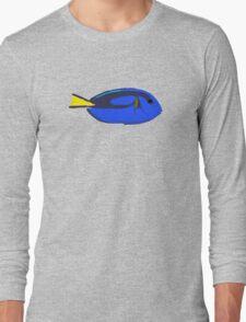 Regal Blue Tang Fish Long Sleeve T-Shirt