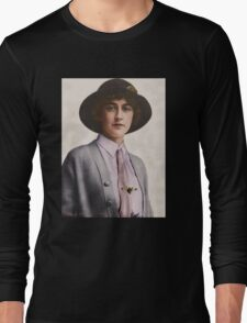 A Young Agatha Christie Long Sleeve T-Shirt