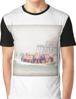 Surfboard World Record 2015 Graphic T-Shirt