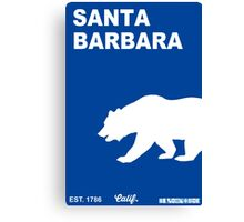 Santa Barbara - California.  Canvas Print
