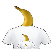 Banana Shirt Photographic Print