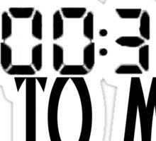 00:00:30 / 30 seconds to mars Sticker