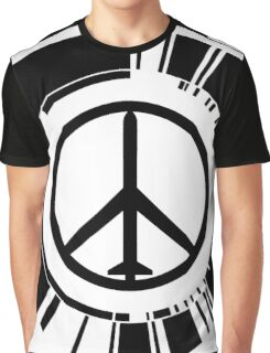 MGS - Peace walker - Black Graphic T-Shirt