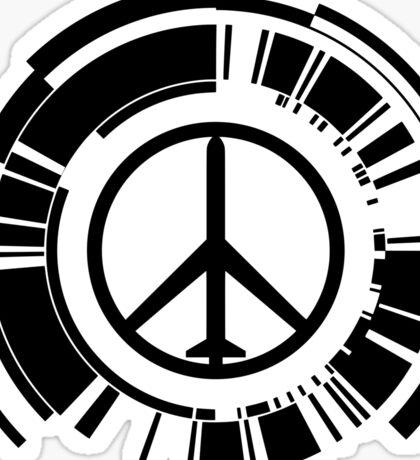 MGS - Peace walker - Black Sticker