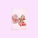 A pink Easter Card by Ann12art