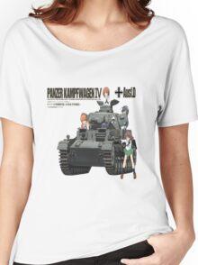 PANZER KAMPFWAGEN IV AUSF F. D Women's Relaxed Fit T-Shirt