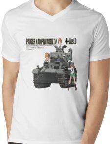 PANZER KAMPFWAGEN IV AUSF F. D Mens V-Neck T-Shirt