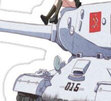IS-2 Iossif Stalin Katayusha  Sticker